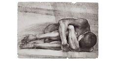 Man Holding Himself by Oldrich Kulhanek