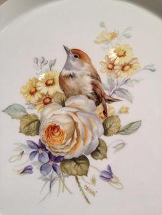 Bird and Rose by Catari Monsanto