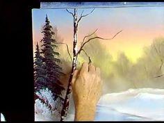 Bob Ross - Short Videos S5E4-Winter Stillness - Painting ASMR