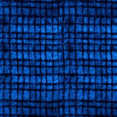 P & B Textiles House Designer - True Blue - Netting in Navy
