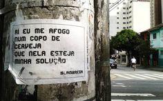 Sexta é dia de se afogar num copo de cerveja!  #sp #011 #br #ruacardealarcoverde #cardeal #intervention #intervencao #intervencaourbana #arte #art #arteurbana #urbanart #arteurbanasp #artederua #streetart #street #rua #lambe #lambelambe #inspiracidade #mobgrafia #mobgrafiabrasil #mobgraphia #oquefalamasruas #pelasruasdesampa #spc #racanegra #quesechamaamor #lambrega by _jcrivellari