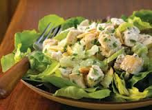 Luby's and Piccadilly Cafeteria Copycat Recipes: Almond Chicken Salad