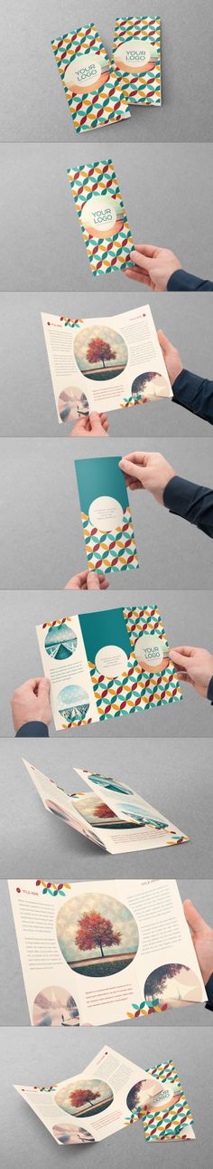 Retro Trifold. Download here: http://graphicriver.net/item/retro-trifold/6746555 #design #brochure #trifold