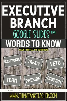 Try something new with this Digital Executive Branch Interactive Google Slides Presentation ™ with self-checking questions! Perfect reading comprehension activity for distance learning in upper elementary or middle school! Topics include: Executive Branch, the President's Cabinet and Article II of the Constitution #Constitution #ExecutiveBranch #Civics #HomeSchool #Digital #4thgrade #5thgrade #6thgrade #Government #MiddleSchool #UpperElementary