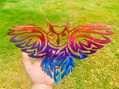 Excited to share this item from my #etsy shop: Flying Owl Wall Decor Cnc Plasma Cutter, Plasma Cutting, Scrap Material, Garden Signs, Owl Art, Metal Walls, Wall Signs, Metal Art, Photo Wall Art