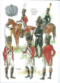 FRANCE - 3° Regiment Suisse Fanterie de Ligne - 1804-13