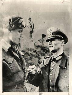 1944- German Lt. General Heim surrenders the Boulogne garrison to Canadian officer.