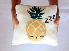 Coussin ananas ananas kawaii thème ananas coussins