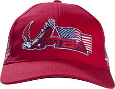 The most popular Proud To Buy American® baseball hat so far is definitely red. Baseball Hats, Popular, Website, American, Red, How To Make, Stuff To Buy, Clothes, Fashion