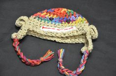 Colorful Monkey Hat!