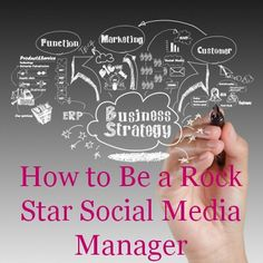 """One of the most in demand freelance skills of the moment is social media management. This field has a low barrier to entry and is often """"on the job"""" training. If you have what it takes and can provide rock star results, you will likely find yourself with Business Marketing, Content Marketing, Internet Marketing, Business Tips, Online Marketing, Social Media Marketing, Online Business, Business School, Marketing Digital"""