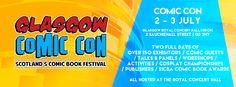 Glasgow Comic Con 2016 - Glasgow, Scotland, July 2-3, 2016 ~ Anime Nippon~Jin - Kagi Nippon He