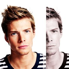 Hunter Parrish ... see, he's almost too good looking ... while I watch Weeds I sit there thinking how he's so cute I can't stand looking at him, in a good way