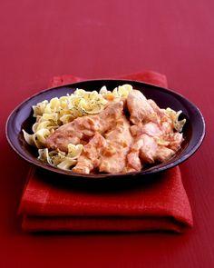 Chicken with Paprika Sauce - Martha Stewart Recipes