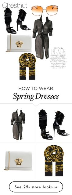 """""""Untitled #95"""" by ahoward-3 on Polyvore featuring мода, Versace и Tom Ford"""