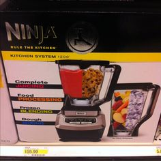 Ninja kitchen system (blender) I WANT!!