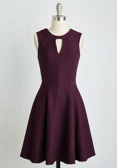 Moxie Must-Have Dress in Plum, @ModCloth