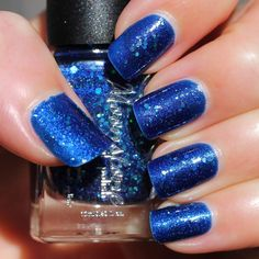 Moonstone Polish Star Queen Nebula - What's Indie Box September 2014 - Spectacular Space