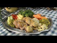 Laci bácsi konyhája - Tavaszi copf Scampi, Potato Salad, Shrimp, Potatoes, Meat, Chicken, Ethnic Recipes, Food, Youtube