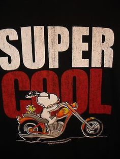Image result for snoopy joe cool on motorcycle