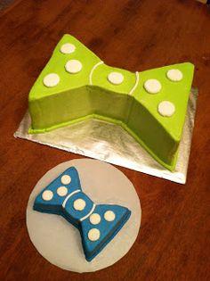 Bowtie cake..I think I just found Tobi's cake