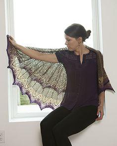 Kicking off shawl season with the Diatom Shawl | KnitPicks Staff Knitting Blog