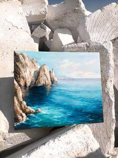What is Your Painting Style? How do you find your own painting style? What is your painting style? Landscape Art, Landscape Paintings, Detailed Paintings, Seascape Paintings, Oil Paintings, Arte Sketchbook, Mini Canvas Art, Pastel Art, Ocean Art