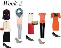 Week 2- - work wardrobe