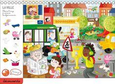 Page découverte 1 cherche et trouve bloc-notes - enfants de 4 à 6 ans - Cherche et trouve de la maternelle
