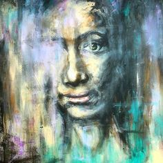 After the storm  #art #artist #artwork #abstract #painting #portrait #acrylicpainting #acrylic