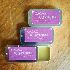 Image of Cacao & Lavender Lip Balm