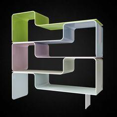 Karim Rashid Kurl Bookcase - 3D furniture model - Use PROMO CODE: pin3d and get 20% off - $6.00