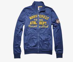 Roosevelt hoodie azul. Es perfecta para las mañanas frescas. #hoodie #RooseveltAC #RSGuys #moda #México