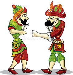 Illustration about Hacivat and karagoz, Turkey shadow theater. Illustration of museum, ottoman, turkish - 12431366 Shadow Theatre, African Crafts, Ramadan Decorations, Character Design Animation, Vector Clipart, Photo Online, Character Illustration, Istanbul, Graffiti