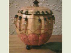 Trinket Box Trinket Boxes, Gourds, Jar, Home Decor, Homemade Home Decor, Pumpkins, Jars, Interior Design, Decoration Home