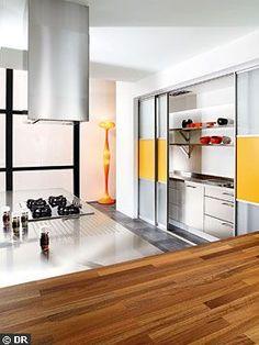 1000 id es sur portes coulissantes de cuisine sur - Porte coulissante en verre pour cuisine ...