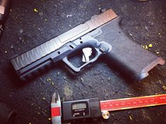 Polymer 80 stippling Weapon Storage, Guns And Ammo, Pistols, Firearms, Hand Guns, Jay Rock, Stippling, Shops, Military