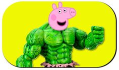 Peppa Pig Hulk Real Life Scene Finger Family Collection Nursery Rhyme   ...