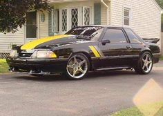 Notchback Mustang, Saleen Mustang, Fox Body Mustang, Ford Mustang Shelby, Ford Parts, Pony Car, Sweet Cars, Car Stuff, Hot Cars