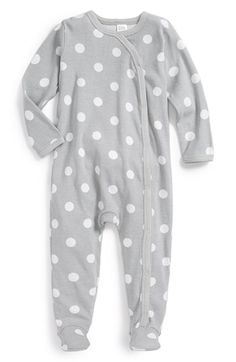 Nordstrom Baby Gray Dots: love this onsie! Perfect for surprise baby!