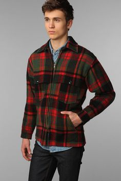 Vintage Men's Plaid Jacket for my dude