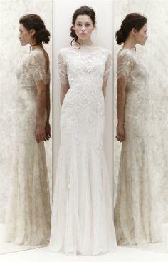 Vestido de novia diferente. Different wedding dress.