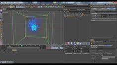 CINEMA 4D - Energy effect - (TurbulenceFD ) Tutorial