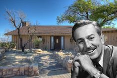 """Walt Disney's Sinatra-Approved Former Party Pad Wants $535K  It may not be as castle-like as his old Los Feliz estate, or as over the top as the mansion that sits on the site of his last home, but what Walt Disney's former ranch-style retreat in Mountain Center, Calif. lacks in grandeur it makes up for in Rat Pack history. """"This was where the Smoke Tree crowd would go to get away from everyone,"""