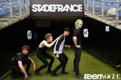 Here's Exactly What Goes Down When You Hang Out with 5 Seconds of Summer in Paris