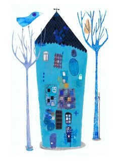 Blues by Annemarie on Etsy