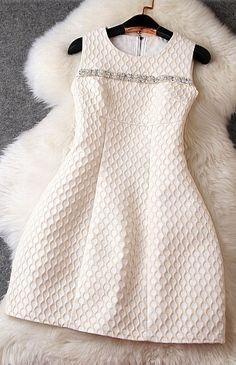 Jacquard Beads Dress