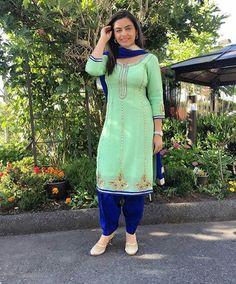 punjabi Suits : visit us at https://www.facebook.com/punjbaibisboutique PINTEREST : @nivetas