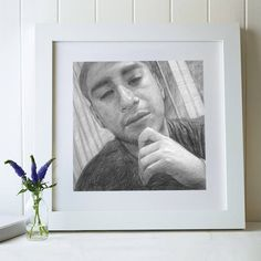 Charcoal paintings and pencil portraits from photos Pencil Sketch Portrait, Charcoal Portraits, Portraits From Photos, Hand Sketch, Draw Your, First Love, How To Draw Hands, Free Shipping, Drawings