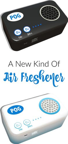 A new kind of air freshener... The POG is a Portable Ozone Generator. It is a unique new type of Air Freshener that eliminates odours without using harmful chemicals and without masking or covering up unwanted odours with another scent. Sponsored.